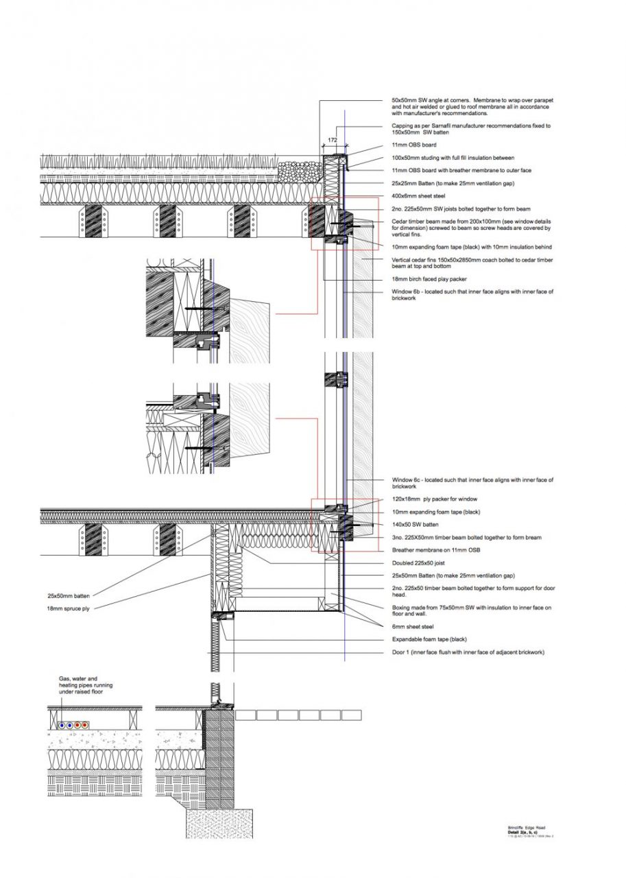 Building Regulation Drawings | Oblong Architecture